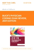 cover image - Buck's Physician Coding Exam Review 2019 Elsevier eBook on VitalSource (Retail Access Card)