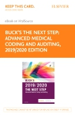 cover image - Buck's The Next Step: Advanced Medical Coding and Auditing, 2019/2020 Edition Elsevier eBook on VitalSource (Retail Access Card)