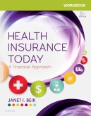cover image - Workbook for Health Insurance Today - Elsevier eBook on VitalSource,6th Edition