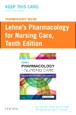 cover image - Pharmacology Online for Lehne's Pharmacology for Nursing Care (Access Card),10th Edition