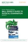 cover image - Elsevier Adaptive Quizzing for Seidel's Guide to Physical Examination (Access Card),9th Edition