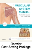 cover image - The Muscular System Manual - eBook on VitalSource + Evolve (Retail Access Cards),4th Edition