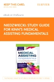 cover image - Study Guide for Kinn's Medical Assisting Fundamentals Elsevier eBook on VitalSource (Retail Access Card)