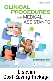 cover image - Clinical Procedures for Medical Assistants - Text and Study Guide Package,10th Edition