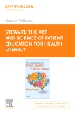 cover image - The Art and Science of Patient Education for Health Literacy - Elsevier eBook on Vitalsource (Retail Access Card)