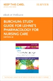 cover image - Study Guide for Lehne's Pharmacology for Nursing Care - Elsevier eBook on VitalSource (Retail Access Card),10th Edition