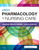 cover image - Pharmacology Online for Lehne's Pharmacology for Nursing Care,10th Edition