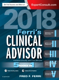 cover image - Ferri's Clinical Advisor 2018 Elsevier eBook on VitalSource