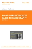 cover image - Merrill's Pocket Guide to Radiography Elsevier eBook on VitalSource (Retail Access Card),14th Edition