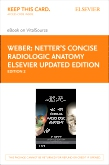 cover image - Netter's Concise Radiologic Anatomy Elsevier Updated Edition eBook on VitalSource (Retail Access Card),2nd Edition