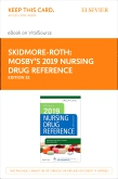 cover image - Mosby's 2019 Nursing Drug Reference Elsevier eBook on VitalSource (Retail Access Card),32nd Edition