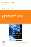 cover image - Dysphagia Elsevier eBook on VitalSource (Retail Access Card),3rd Edition