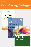 cover image - 2019 ICD-10-CM Physician Edition, 2018 HCPCS Professional Edition and AMA 2018 CPT Professional Edition Package