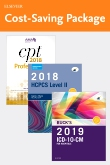 cover image - 2019 ICD-10-CM Hospital Edition, 2018 HCPCS Professional Edition and AMA 2018 CPT Professional Edition Package