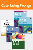 cover image - Step-by-Step Medical Coding 2018 Edition - Text, Workbook, 2019 ICD-10-CM for Physicians Edition, 2018 HCPCS Professional Edition and AMA 2018 CPT Professional Edition Package
