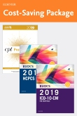 cover image - 2019 ICD-10-CM Hospital Edition, 2019 HCPCS Professional Edition and AMA 2019 CPT Professional Edition Package