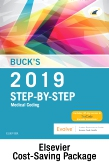 cover image - Buck's Step-by-Step Medical Coding, 2019 Edition – Text and Workbook Package