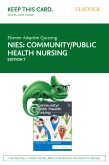 cover image - Elsevier Adaptive Quizzing for Community/Public Health Nursing (Access Card),7th Edition
