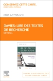 cover image - Lire des textes de recherche Elsevier eBook on VitalSource (Retail Access Card),6th Edition