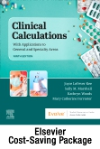 Drug Calculations Online for Kee/Marshall:  Clinical Calculations:  With Applications to General and Specialty Areas (Access Code and Textbook Package)