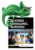 cover image - Elsevier Adaptive Quizzing for Leading and Managing in Nursing - Classic Version,7th Edition