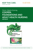 cover image - Elsevier Adaptive Quizzing for Foundations and Adult Health Nursing (Access Card),8th Edition