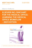 cover image - SimChart for the Medical Office: Learning the Medical Office Workflow - Elsevier eBook on VitalSource & SimChart for the Medical Office (Access Cards) - 2019 Edition