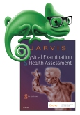 cover image - Elsevier Adaptive Quizzing for Jarvis Physical Examination and Health Assessment,8th Edition