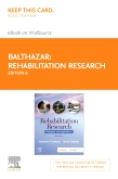 cover image - Rehabilitation Research - Elsevier eBook on Vitalsource (Retail Access Card),6th Edition