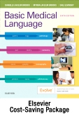 cover image - Basic Medical Language - Text and Elsevier Adaptive Learning Package,6th Edition