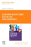 cover image - Buck's 2020 ICD-10-CM Hospital Edition Elsevier eBook on VitalSource (Retail Access Card)