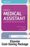cover image - Today's Medical Assistant - Book, Study Guide, and SimChart for the Medical Office 2019 Edition Package,3rd Edition
