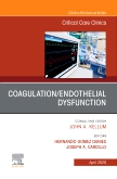 Coagulation/Endothelial Dysfunction ,An Issue of Critical Care Clinics