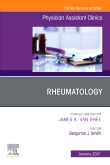 Rheumatology, An Issue of Physician Assistant Clinics