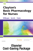 Clayton's Basic Pharmacology for Nurses, 18e Text and Study Guide Package