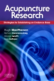 cover image - Acupuncture Research