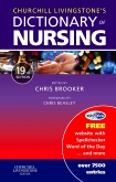Churchill Livingstones Dictionary of Nursing