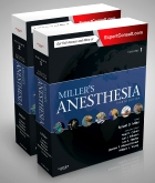 cover image - Miller's Anesthesia, 2-Volume Set,8th Edition