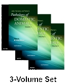 cover image - Jubb, Kennedy & Palmer's Pathology of Domestic Animals: 3-Volume Set,6th Edition