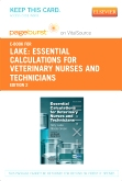 cover image - Essential Calculations for Veterinary Nurses and Technicians - Elsevier eBook on VitalSource (Retail Access Card),2nd Edition