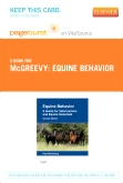 cover image - Equine Behavior - Elsevier eBook on VitalSource (Retail Access Card),2nd Edition