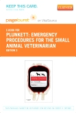 cover image - Emergency Procedures for the Small Animal Veterinarian - Elsevier eBook on VitalSource (Retail Access Card),3rd Edition