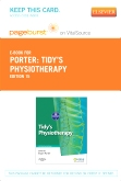 cover image - Tidy's Physiotherapy - Elsevier eBook on VitalSource (Retail Access Card),15th Edition