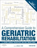 cover image - A Comprehensive Guide to Geriatric Rehabilitation - Elsevier eBook on VitalSource,3rd Edition