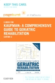 cover image - A Comprehensive Guide to Geriatric Rehabilitation - Elsevier eBook on VitalSource (Retail Access Card),3rd Edition