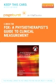 cover image - A Physiotherapist's Guide to Clinical Measurement - Elsevier eBook on vitalSource (Retail Access Card)