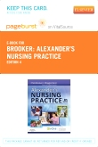 cover image - Alexander's Nursing Practice - Elsevier eBook on VitalSource (Retail Access Card),4th Edition