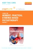 cover image - Practical Evidence-Based Physiotherapy - Elsevier eBook on VitalSource (Retail Access Card),2nd Edition