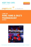 Rang & Dale's Pharmacology Elsevier eBook on VitalSource (Retail Access Card), 7th Edition