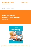 cover image - Mayes' Midwifery - Elsevier eBook on VitalSource (Retail Access Card),15th Edition
